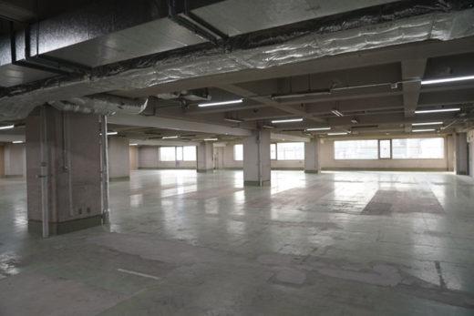 改装中の3階部分