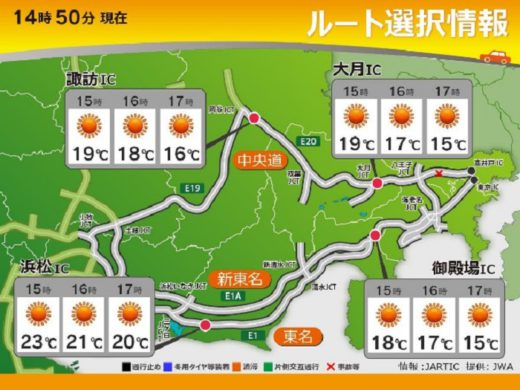 20201120kisyou2 520x390 - 日本気象協会/高速道路の気象・交通情報サービスサイト開設