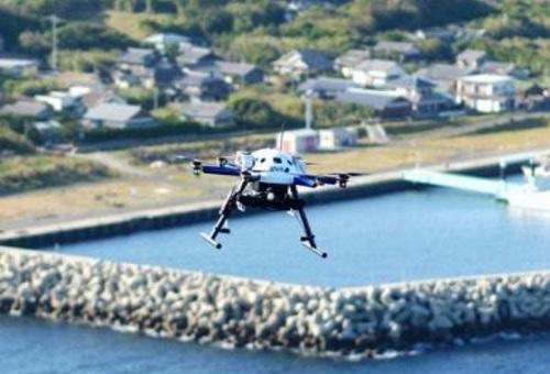 20201124ana - ANA、アイン、セブン/離島へ日用品や医薬品をドローン配送
