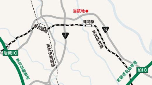 野田市の開発用地