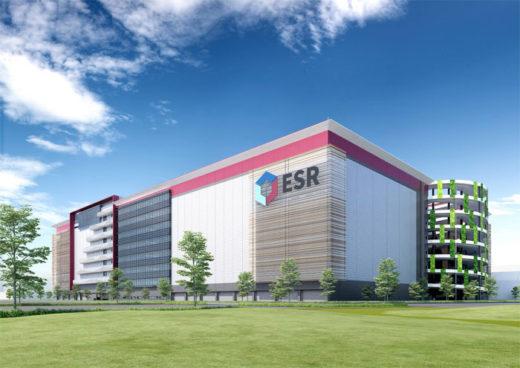 20201204esr1 520x368 - ESR/日本で最高層9階、36.5万m2の物流施設を川崎市で着工