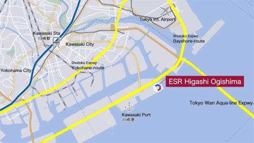 20201204esr2 520x293 - ESR/日本で最高層9階、36.5万m2の物流施設を川崎市で着工