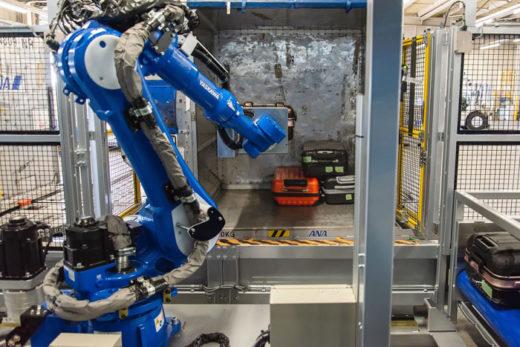 20201207ana1 520x347 - ANA、豊田自動織機/コンテナ用手荷物積み付けロボットで自動化