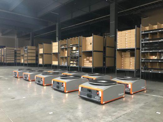 20201208mitsubishi1 520x390 - 三菱商事/日本梱包運輸倉庫に棚流動型ロボット提供