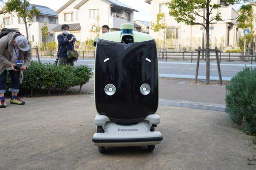 20201209panasonic1 520x346 - パナソニック/日本初、住宅街での配送ロボット公道走行実験公開