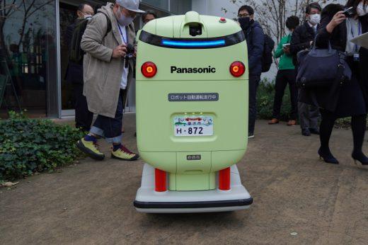 20201209panasonic2 520x346 - パナソニック/日本初、住宅街での配送ロボット公道走行実験公開