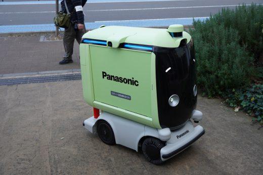 20201209panasonic3 520x346 - パナソニック/日本初、住宅街での配送ロボット公道走行実験公開