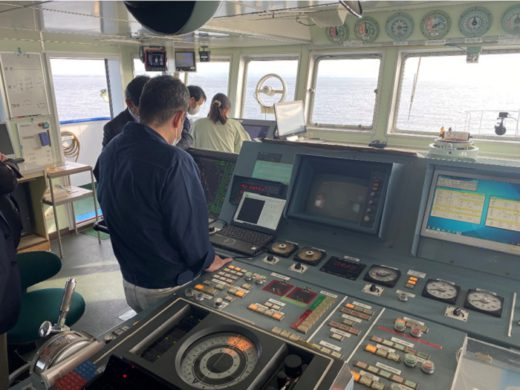 20201210nyk1 520x390 - 日本郵船グループ/大阪湾で船舶をAI操船
