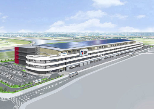20201215esr0 520x368 - ESR/投資額270億円、三重県に15.5万m2の物流施設を着工