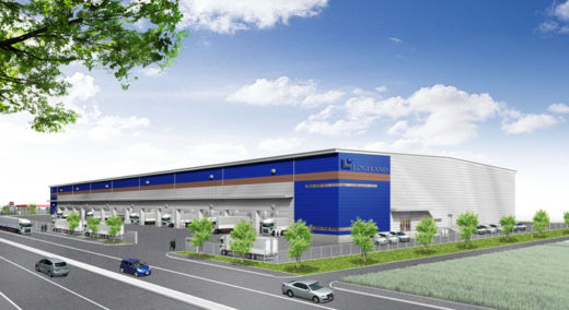 20201216logiland 520x284 - ロジランド/埼玉県羽生市で3棟8.5万m2の物流施設開発に着手