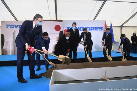 20201216toyotire2 520x347 - TOYO TIRE/488億円投じ、セルビアに乗用車用タイヤ新工場建設