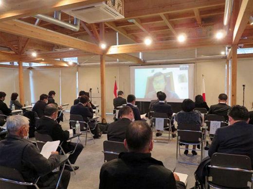 20201222fukutsu1 520x389 - 福山通運/インドネシアとリモートで日本語作文スピーチ大会開催