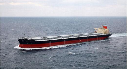 20201225namura 520x284 - 名村造船所/10万トン型ばら積み運搬船を竣工