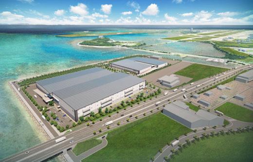 20210112daiwahouse1 520x333 - 大和ハウス/沖縄県最大のマルチテナント型物流施設2棟開発
