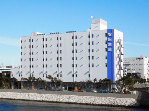 20210114yasuda2 520x390 - 安田倉庫/メディカル物流特化の物流倉庫、江東区辰巳に開設
