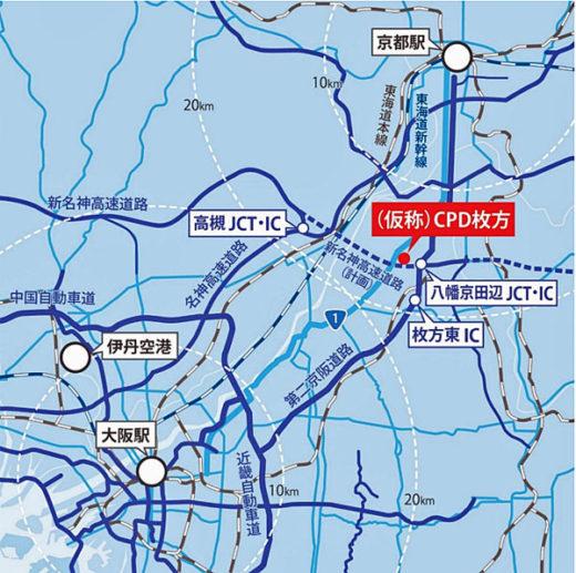20210115cpd5 520x517 - CPD/合計30万m2、神戸市でマルチテナント型物流施設2棟着工