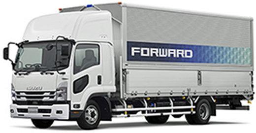 20210121isuzu1 520x270 - いすゞ自動車/「フォワード」を改良、交差点警報を搭載