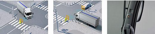 20210121isuzu2 520x116 - いすゞ自動車/「フォワード」を改良、交差点警報を搭載