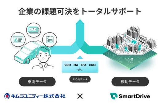 20210121smartkimura 520x355 - スマートドライブ/キムラユニティ―の車両管理システムと連携