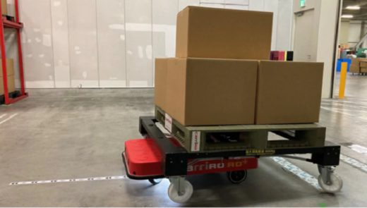 20210126zmp 520x295 - ZMP/新機能搭載で物流支援ロボットの走行精度向上