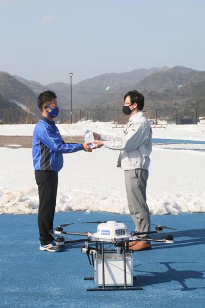 20210127sagawa4 - 佐川急便/地方自治体とドローンでの複数拠点間輸送実証実験実施