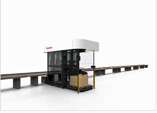 20210127toshiba1 520x373 - 東芝インフラシステムズ/センコー加須PDセンターに荷降ロボット