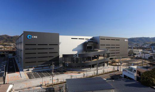 20210201cre 1 520x311 - CRE/大阪府交野市で8万m2物流施設竣工、50%でテナント内定