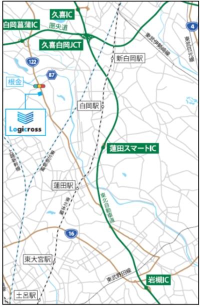 20210201mitsubishi2 - 三菱地所/2月16・17日、「ロジクロス蓮田」竣工前内覧会