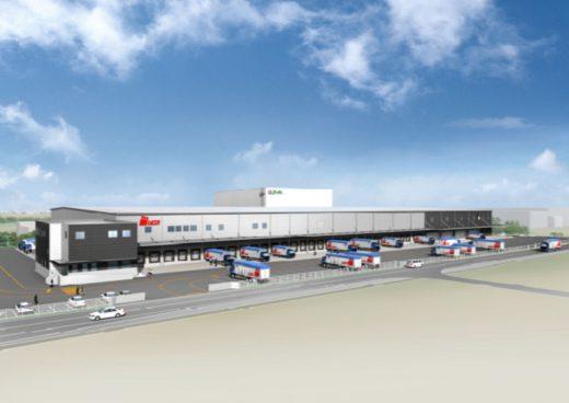 20210202glp 520x368 - 日本GLP/茨城県常総市でムロオ専用の低温物流施設を着工