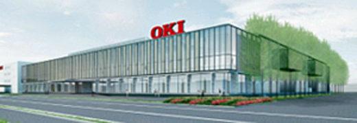 20210204oki 520x179 - OKI/約60億円投じ新工場を埼玉県本庄市に新設