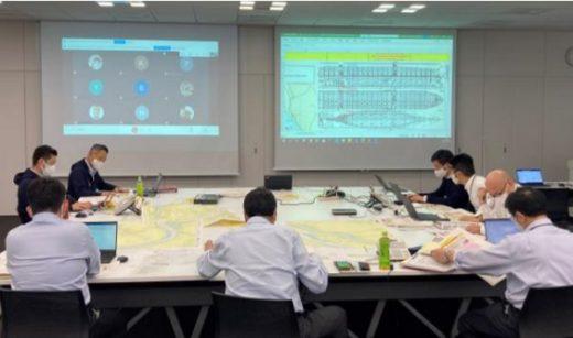 20210210kline 1 520x307 - 川崎汽船、ONE/コンテナ船座礁を想定した事故演習を実施