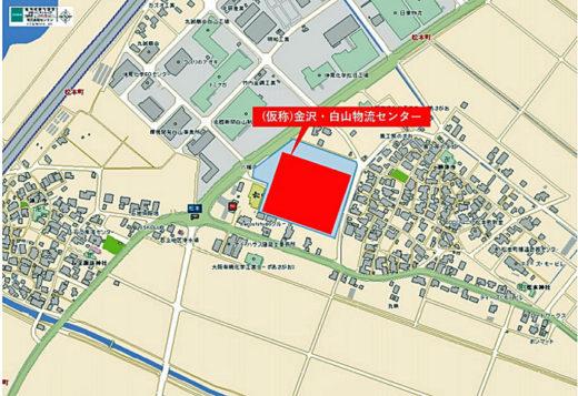 20210212daiwab3 520x357 - 大和物流/石川県白山市に2.3万m2の物流センター着工