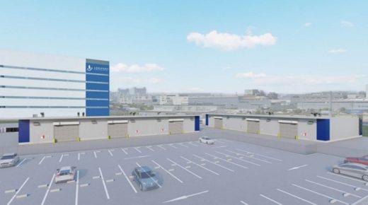 20210215lasalle 520x290 - ラサール/ロジポート尼崎内に危険物倉庫2棟増築、日通に賃貸