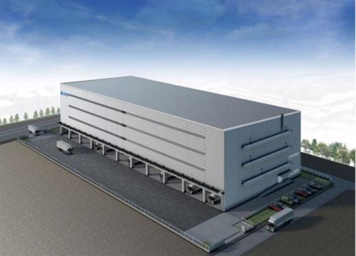 20210219cpd2 520x374 - CPD/名古屋市に2.3万m2のマルチテナント型物流施設開発