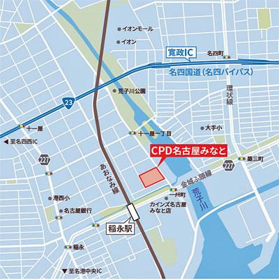 20210219cpd4 - CPD/名古屋市に2.3万m2のマルチテナント型物流施設開発