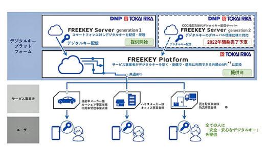 20210224dnp1 520x293 - DNP、東海理化/デジタルキープラットフォーム共同提供