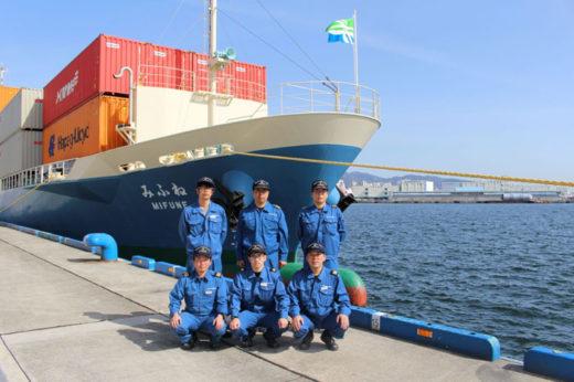 20210301imoto2 520x346 - 井本商運/200TEU型新造船「みふね」が瀬戸内航路に就航