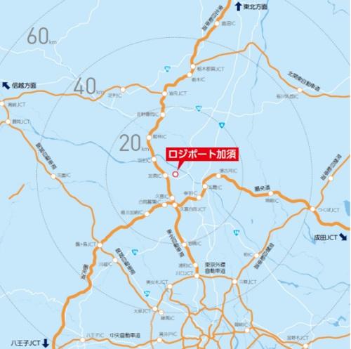 20210301lasalle25 - ラサール不動産/埼玉県加須市の建設中物流施設で内覧会
