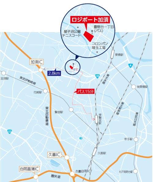 20210301lasalle26 - ラサール不動産/埼玉県加須市の建設中物流施設で内覧会