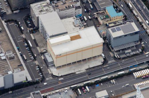 20210302nisshin 520x342 - 日新/東京都大田区平和島で2.6万トン収容の冷凍冷蔵倉庫竣工