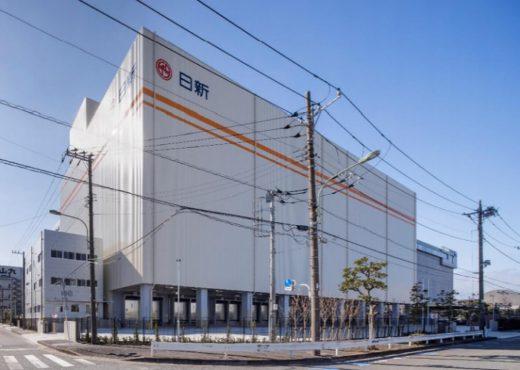 20210302nisshin1 520x370 - 日新/東京都大田区平和島で2.6万トン収容の冷凍冷蔵倉庫竣工