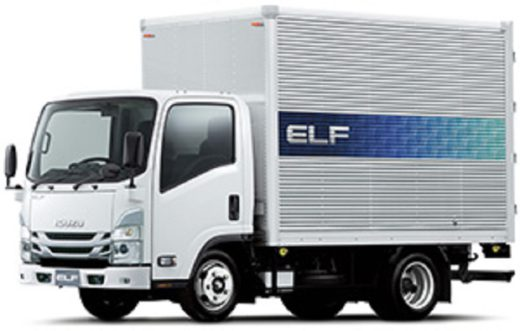 20210303isuzu1 520x331 - いすゞ/新型エルフ、交差点警報やLEDライトで安全性向上