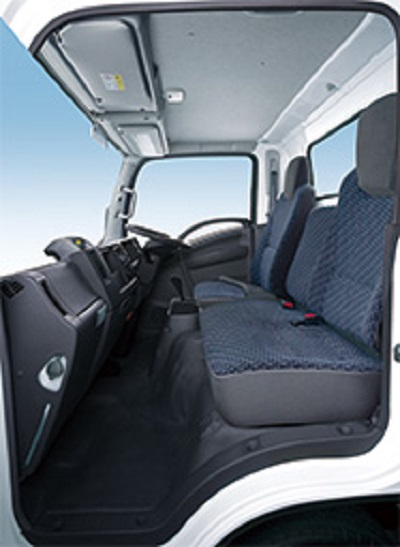 20210303isuzu5 - いすゞ/新型エルフ、交差点警報やLEDライトで安全性向上