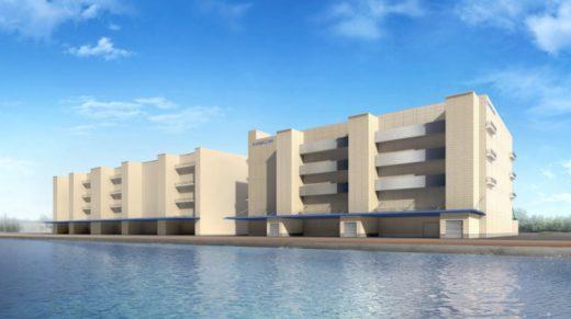 20210304kamigumi 520x291 - 上組/東京都江東区に2.5万m2の定温倉庫建設