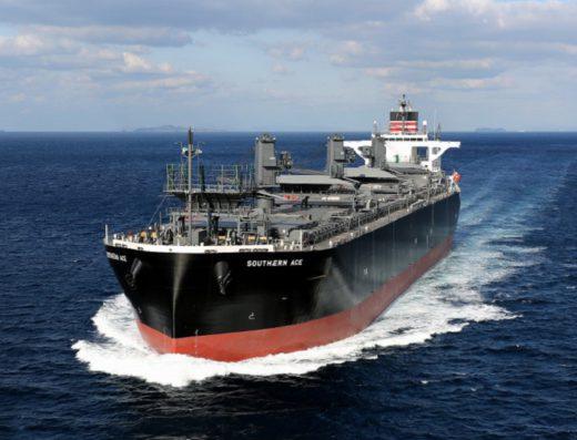 20210304nyk 520x397 - 日本郵船/北越コーポレーション向け木材チップ専用船が就航