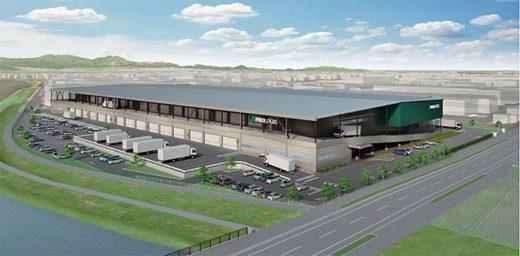 20210304prologis 520x256 - プロロジス/宮城県岩沼市に5.1万m2の物流施設を起工
