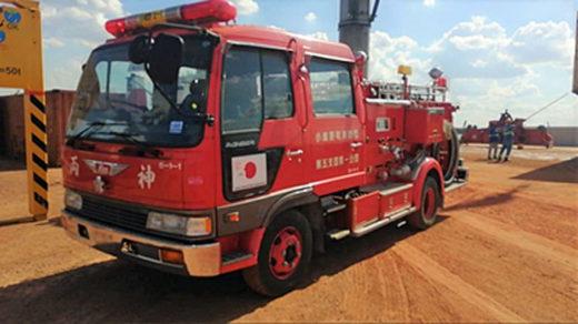 20210318mol 520x292 - 商船三井/パラグアイ向けに消防車輌等の輸送協力実施