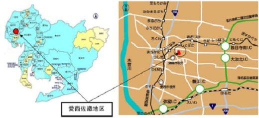 20210324lonco1 520x237 - 愛知県/愛西市の工業用地にロンコの物流施設誘致