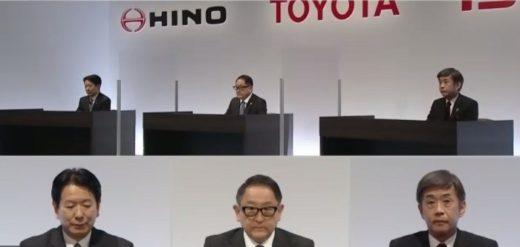 20210324toyota 520x247 - いすゞ、日野、トヨタ/小型トラックの電動化等で協業