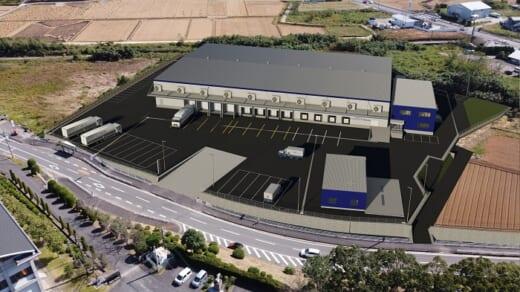 20210331fukuoka 520x292 - 福岡運輸HD/長崎県諫早市にグループ会社の冷凍冷蔵倉庫建設